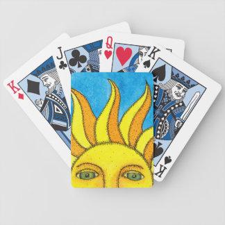 Summer Sun Poker Cards