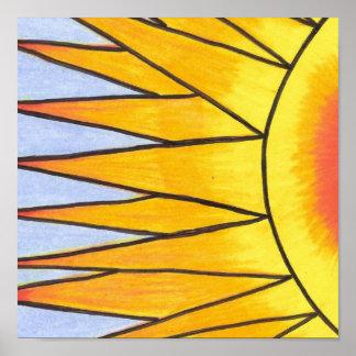 Summer Sun print by Geree