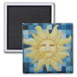 Summer Sun Refrigerator Magnet