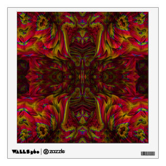 Summer Sun Remembered - S.I. Fractal Poster Wall Decal