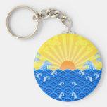 Summer Sun Summer Waves Key Chains