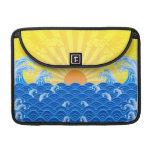 Summer Sun Summer Waves MacBook Pro Sleeves
