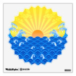 Summer Sun Summer Waves Room Graphic