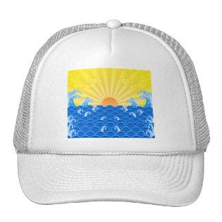 Summer Sun Summer Waves Trucker Hat