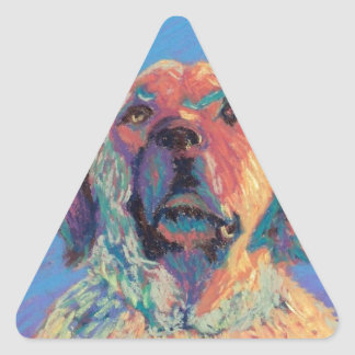 Summer Sun Triangle Sticker