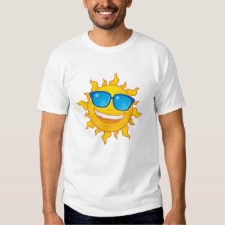 Summer Sun Wearing Sunglasses T-shirts