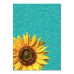 Summer Sunflower Bridal Shower 5x7 Paper Invitation Card