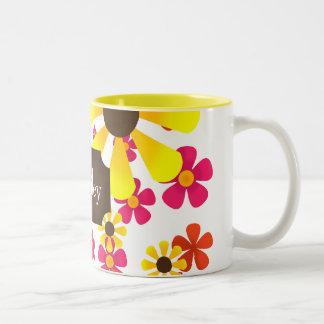 Summer Sunflower Coffee Mug - Personalized