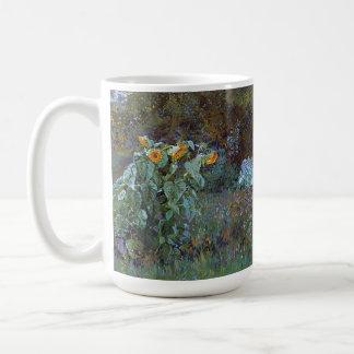 Summer Sunflower Flowers Garden Cabbage Vegies Mug