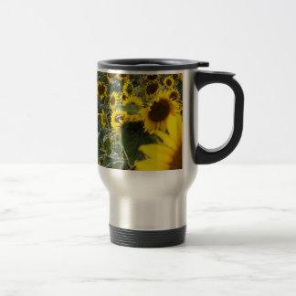 Summer Sunflower Shower Commuter Mug