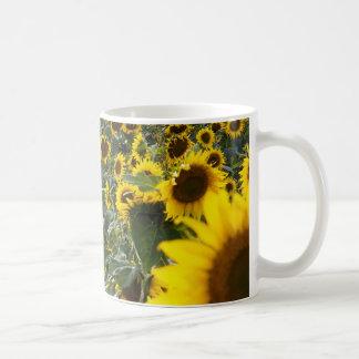 Summer Sunflower Shower Mug