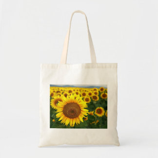 Summer Sunflowers Budget Tote  Bag