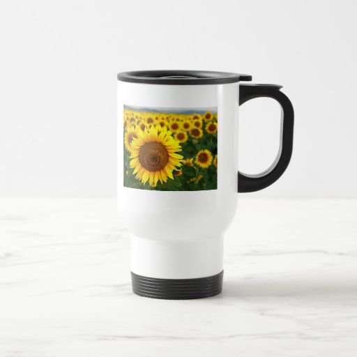 Summer Sunflowers Commuter Mug