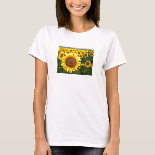 Summer Sunflowers Ladies Spaghetti Top