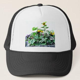 Summer Sunflowers Photo Design Trucker Hat