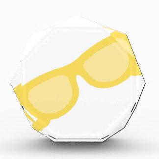 Summer sunglasses yellow hipster eyewear glasses awards