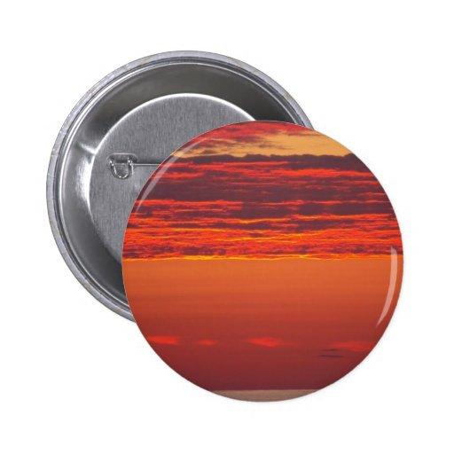 Summer Sunrise 2 Inch Round Button