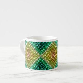 Summer Sunrise Weave 6 Oz Ceramic Espresso Cup