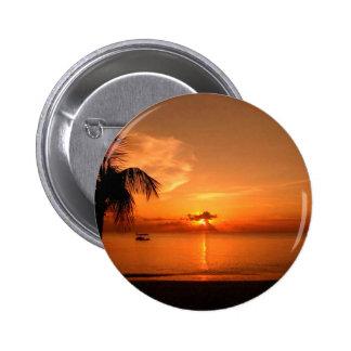 Summer Sunset Button