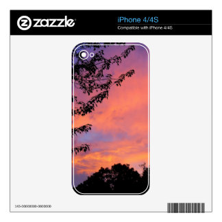 Summer Sunset Decals For iPhone 4
