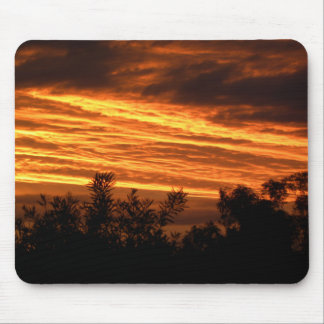 Summer sunset in Canberra Mouse Pad