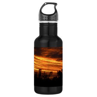 Summer Sunset in Canberra Water Bottle