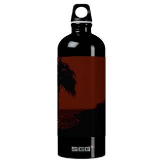 Summer Sunset Landscape Water Bottle