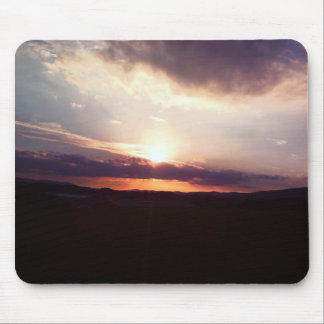 Summer Sunset Mouse Pad