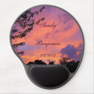 Summer Sunset Romantic Gel Mousepad *Personalize*