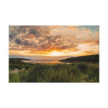 Summer Sunset Stretched Canvas Print