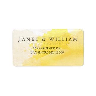 Summer Sunshine address labels