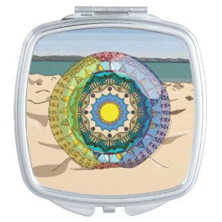 Summer Sunshine Compact Mirror