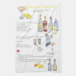 Summer Sunshine Hand Towel