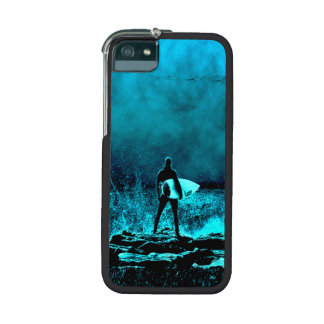 Summer Surfing Grunge Style iPhone 5/5S Cases
