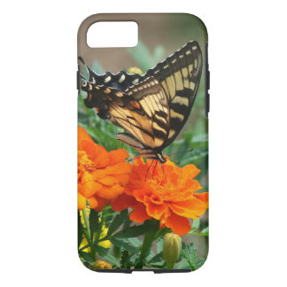 Summer - Swallowtail Butterfly and Pretty Marigold iPhone 7 Case