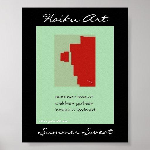 Summer Sweat Poster