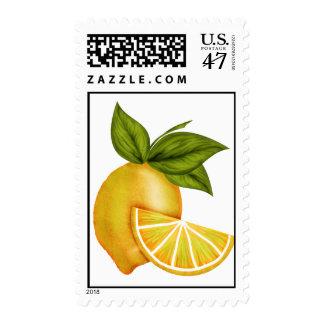 Summer Sweet Lemons Postage Stamps