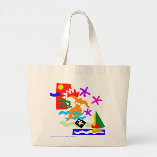 Summer swimmer - Jumbo tote