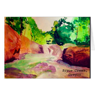 Summer Swimming Hole Greeting Card