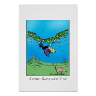 Summer Swing under the Orion Poster