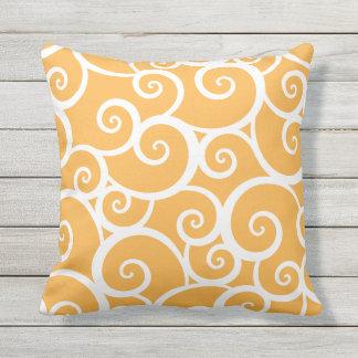 Summer Swirl | Outdoor Pillow