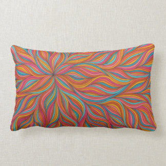 Summer Swirls Throw Pillows