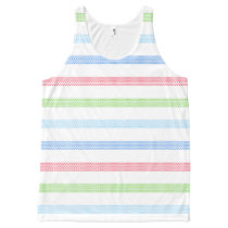 Summer T-shirt with printed pattern