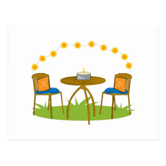 Summer Table Postcard
