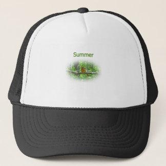 Summer Tanager Logo Trucker Hat