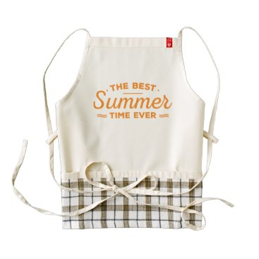 produkto Summer. The Best Time Ever. Zazzle HEART Apron