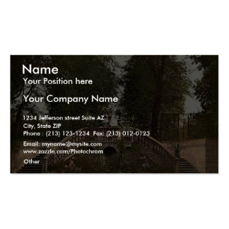 Summer theatre, Terrace Herrenhausen, Hanover, Han Double-Sided Standard Business Cards (Pack Of 100)