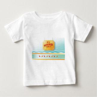 Summer theme design infant t-shirt