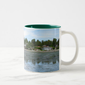 Summer Tide Two-Tone Coffee Mug