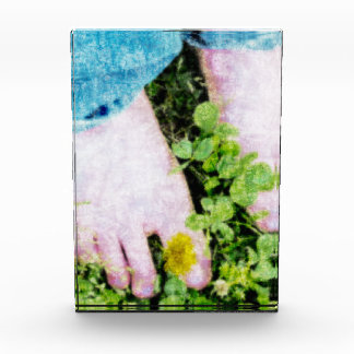 Summer Time Barefoot Fun Acrylic Award